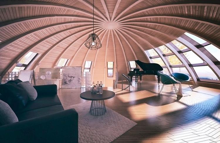 Новый подход к устройству купольных сооружений
