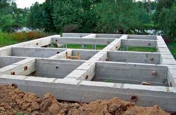 Соблюдение технологий при устройстве фундамента загородного дома