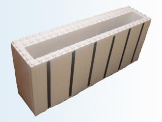 Блок стеновой торцевой (Серия 30)