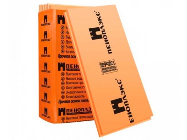 Экструдированный пенополистирол Пеноплэкс Комфорт 1185x585x100мм 4 плиты в упаковке