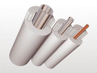 Утеплитель для труб из пенопласта ПСБ-С 35 (скорлупы) вн.диаметр 105 толщина стенки 50мм