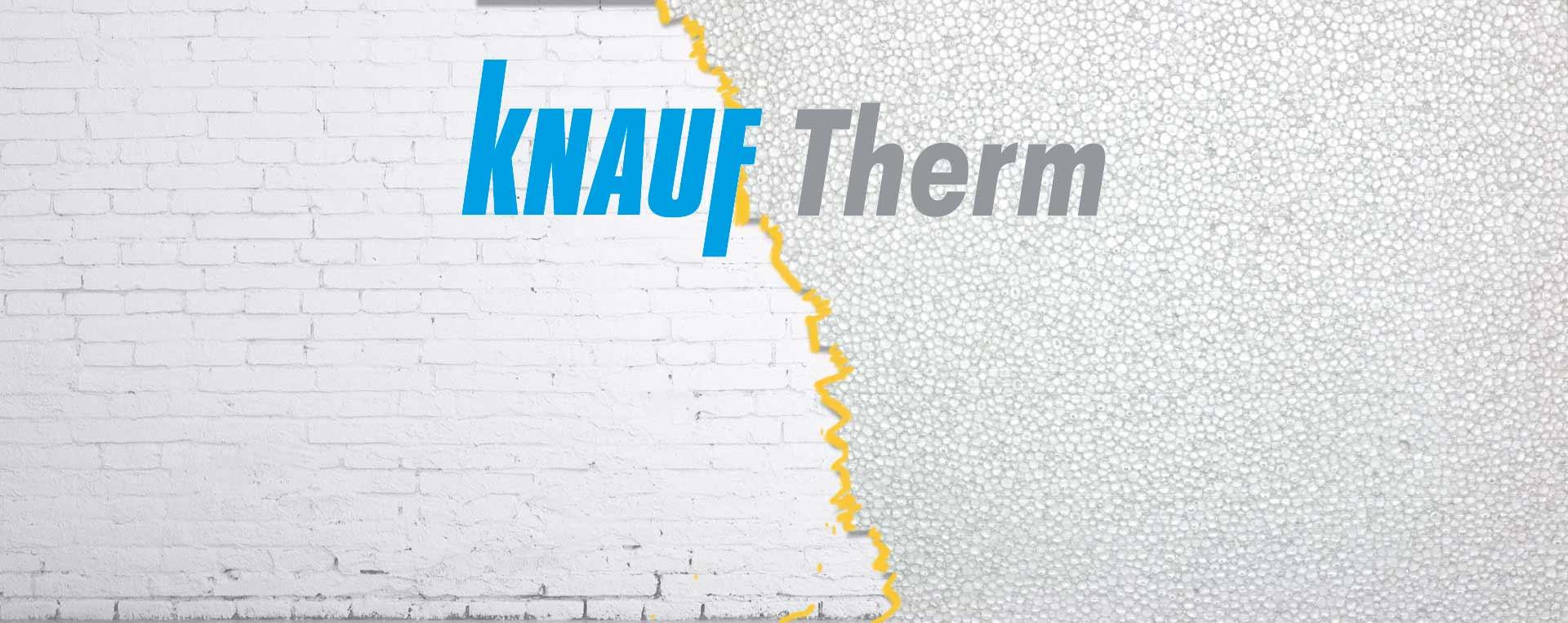 Теплоизоляционный пенопласт  Knauf Therm